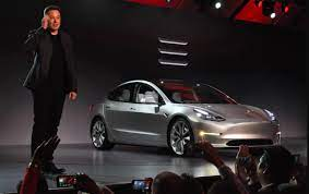 Tesla shares (TSLA) up in premarket as ...