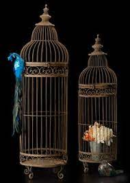 Imax 40516-2 Lenore Bird Cages Set of 2 Bird Cage Cages & Accessories  Birdcages