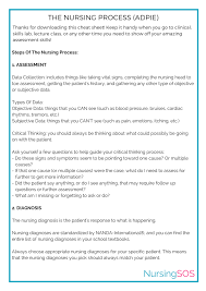 Adpie Charting Opt In Freebie Youtube The Nursing Process Adpie