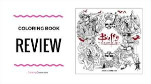buffy the vire slayer coloring book review