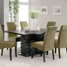 Modern Kitchen Dining Sets Kitchen Chairs Simple And Modern Kitchen With A White Round Dining