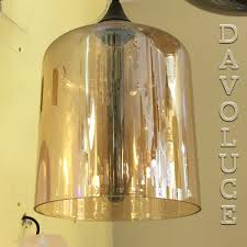 esther amber or smoke hand blown glass pendant davoluce lighting uge lighting uge