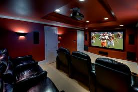 theater room lighting. Living Room Movie Theater Home Contemporary With Modern Basement Recliner Chairs Built In Speakers Lighting