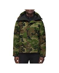 Lyst - Canada Goose Macmillan Camouflage-Print Parka Jacket in Green ...