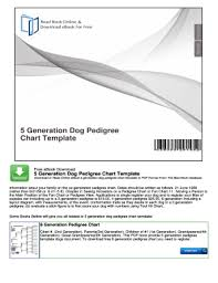 47 Printable Pedigree Chart Forms And Templates Fillable
