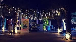 xmas lighting decorations. Desert Snow\u0027s Icicle Festoon Lights During Eid At Yas Marina Xmas Lighting Decorations F