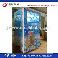 Bulk Ice Vending Machines New 4848kg Square Cube Ice Vending Machine With Bagging System For