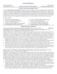 Supply Chain Management Resume Inspiration MorgankevinresumeSCM