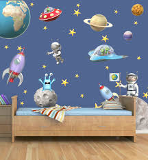 outer space cool space wall
