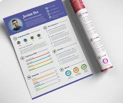 Photoshop Resume Template New 48 Awesome Infographic Resume [Free Templates Examples] XDesigns