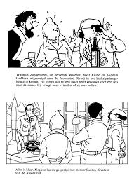25 Bladeren Hondje Van Tintin Kleurplaat Mandala Kleurplaat Voor