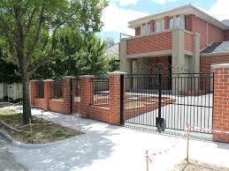 front yard fence. Front Fence Ideas Image Of Yard Black Gold Coast