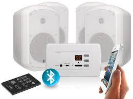 avid3acbt ws4 in wall stereo amplifier 2 x 15w bluetooth ac
