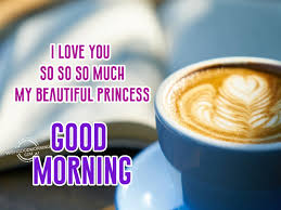 i love you so much good morning my princess