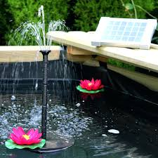 solar powered water fountain wter fount grden solr pnel garden pond pool pump kit for ponds fountains canada