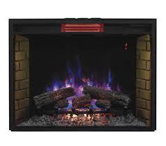 infrared fireplace insert