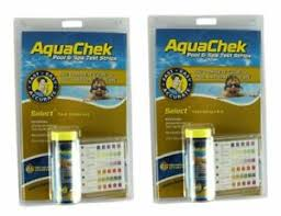 Aquachek Select Color Chart Details About 2 New Aquachek Select 541604 Swimming Pool Spa 7 In 1 Test Strips Booklet Log