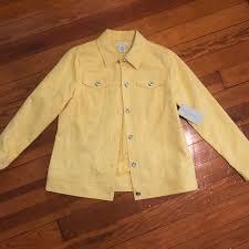 Laura Ashley Jackets & Coats | Laura Ashley Lemon Jacket | Poshmark