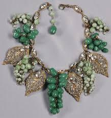 7 festooned with diamonds miriam haskell jewelry