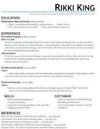 Sample Objective For Internship Resume Accounting Internship Resume