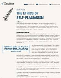 what is self plagiarism and how to avoid it self plagiarism white paper