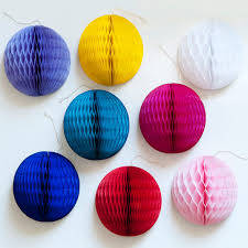 Decorative Balls Next Mini Honeycomb Balls Honeycomb Decorations Pompom Twiddle 37