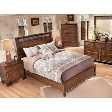 B676 57 Ashley Furniture Queen Panel Bed With Platform Fb