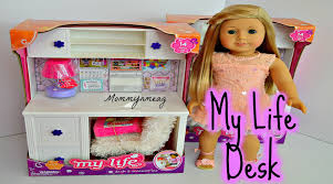 my life as desk and accessories perfect for american girl dolls you
