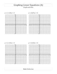equations of lines worksheet answers math the graph a linear equation in slope intercept form a