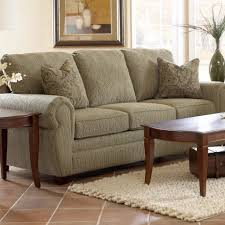 Klaussner Bedroom Furniture Klaussner Sleeper Sofa Flared Arm Chair With Box Seat Cushion