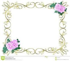Flower Border Designs For Paper Design Borders Vintage Border Flowers Vector By Image Borders Design