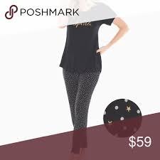 Soma Cool Nights Sparkle Pajama Set Xl Eye Mask Measurements