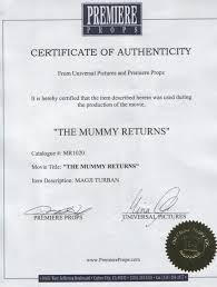 Best Solutions Of Letters Of Authenticity Certification Wonderful