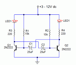 12v dc led wiring diagram car wiring diagram download cancross co Led Emergency Flasher Wiring Schematic led flasher circuit diagram 12v wiring diagram and schematic 12v dc led wiring diagram super 12v light flasher circuit using h1061 eleccircuit com 2 Pin LED Flasher Relay