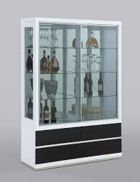 craigslist extraordinary curio cabinets for cabinets chintaly imports curio cabinet with 2 glass doors and 4 drawers on