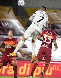 Watch Cristiano Ronaldo 'leap like prime Michael Jordan' to score stunning  header for Juventus at Roma
