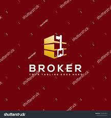 Powerful Logo Designs Simple Powerful Logo Design Real Estate Stock Vector