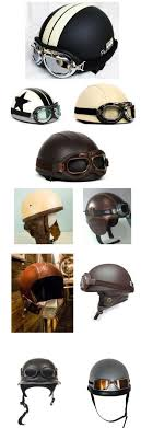 vintage motorcycle helmet collection