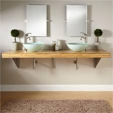 vessel sinks pros and cons inspirational wall mounted bathroom sink luxury 1 224 95 bamboo wall