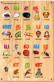 Tamil Alphabet Chart For Kids Alphabet Image And Picture