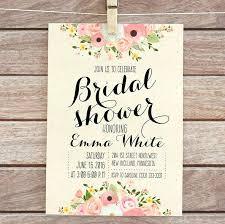 Bridal Shower Invitation Template Dondusang Info