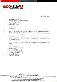 Corporate Appreciation Letter News