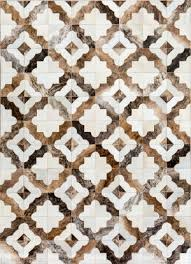 quick view royal cowhide patchwork rug