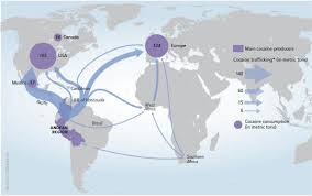 drug trafficking global cocaine flows