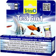 Tetra Test Strips Color Chart Tetra Test 6in1