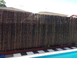 ... Outdoor Bamboo Privacy Screen 8 Privacy Screen Photos ...