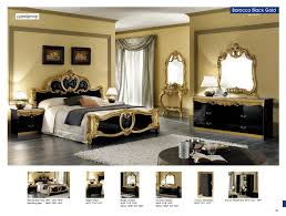 italian bedroom furniture image9. Bedroom Furniture Classic Bedrooms Barocco Black W/Gold, Camelgroup Italy Italian Image9 I