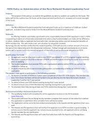 Myra McDaniel Student Fund Policy-1