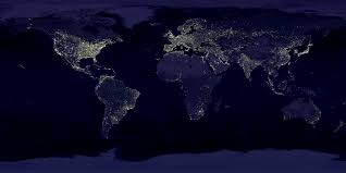 earth earth at night night lights ...