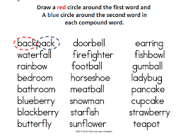Compound Word Worksheets Worksheets for all | Download and Share ...